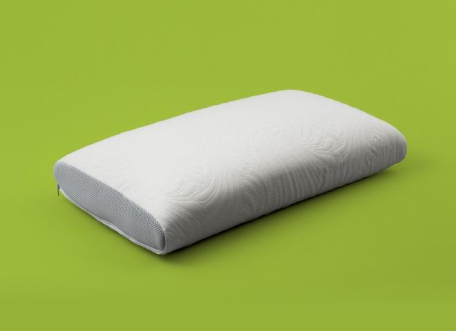 Cuscino lattice soft touch 16, favorisce una buona posizione della colonna vertebrale ed un ottimo sostegno per capo e collo