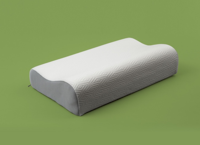 Cuscino memory foam Breeze ortopedico my 15, indicato per una corporatura molto grande, per chi dorme supino oppure sul fianco